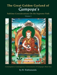 The Great Golden Garland of Gampopa's Sublime Considerations on the Supreme Path, vol. 2